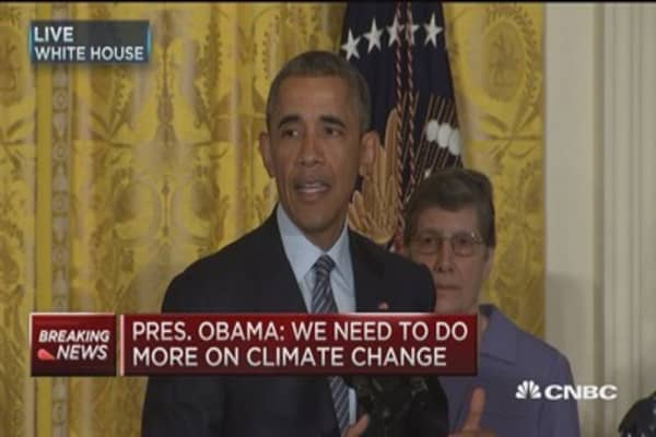 President Obama announces America's clean power plan