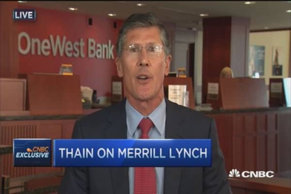 Bank of America and Merrill Lynch split not viable: CIT CEO