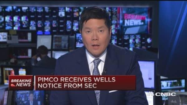Pimco recieves Wells notice