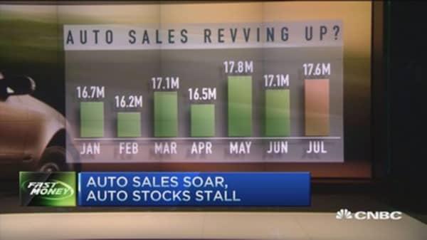 Good sales, bad stocks