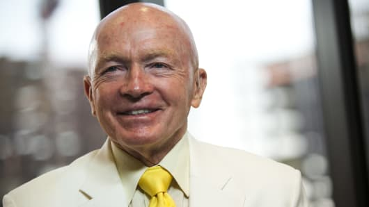 Mark Mobius' new firm, Mobius Capital Partners, initially will manage institutional monies and a cross-border, Luxembourg-domiciled mutual fund.