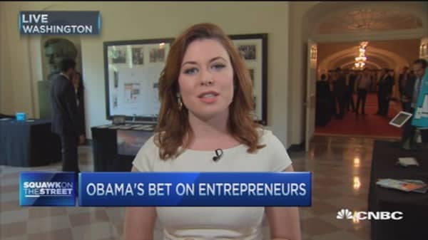 Obama's bet on entrepreneurs