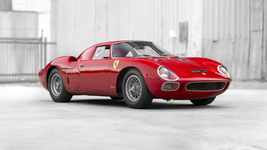 One of only 32 produced, this 1964 Ferrari 250 LM sold for $17.6 million at the Concours d'Elegance auction in Pebble Beach last August.