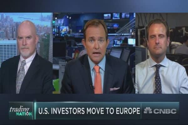 U.S investors move to Europe