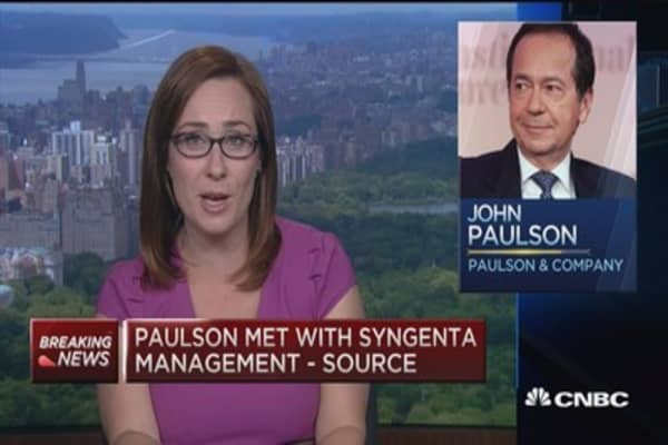 Syngenta & Monsanto not far apart on price: Source