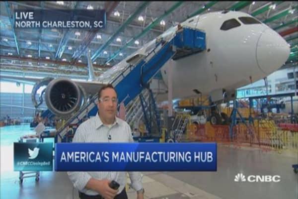 SC: Manufacturing hub?