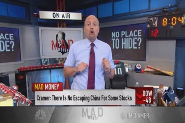 Cramer: Investors flee winners because of China