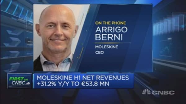 Still growth in notebook business: Moleskine CEO