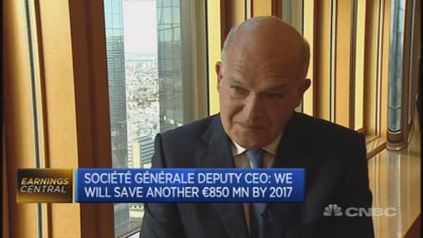 SocGen's three main objectives: Deputy CEO