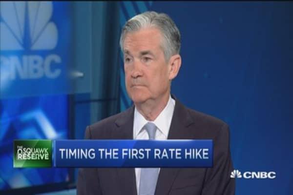 Fed's Jay Powell: Watching data, especially jobs