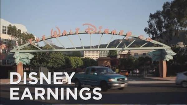 Disney reports mixed quarter