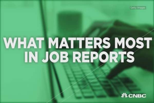 What matter most in job reports