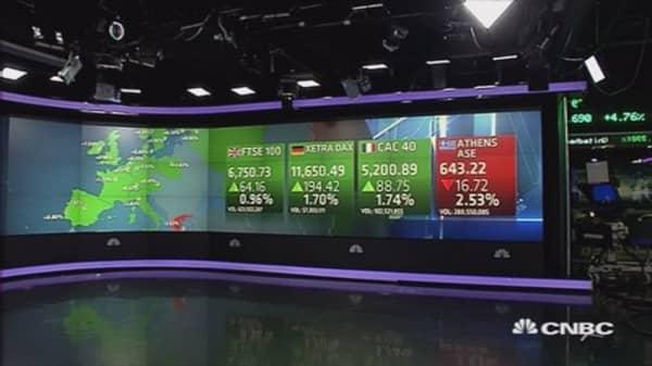 European markets end higher; earnings dominate