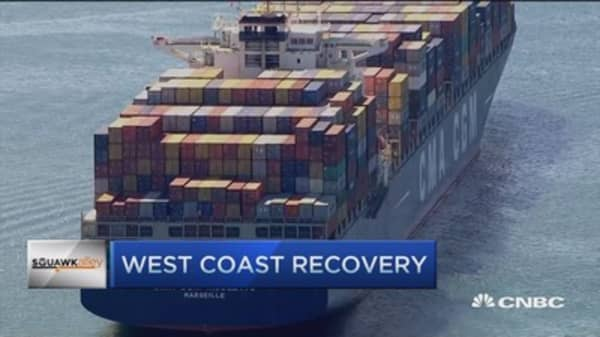 West Coast port recovery