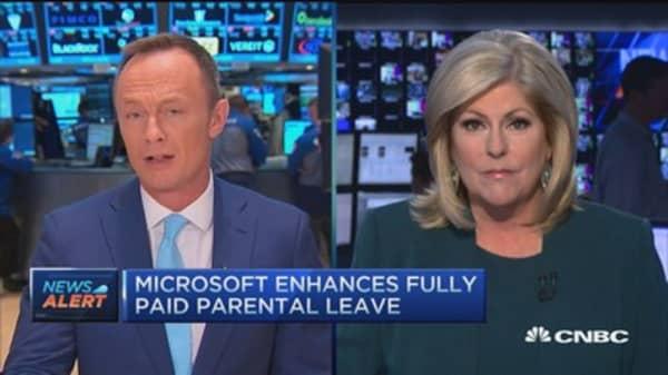 Microsoft enhances employee benefits