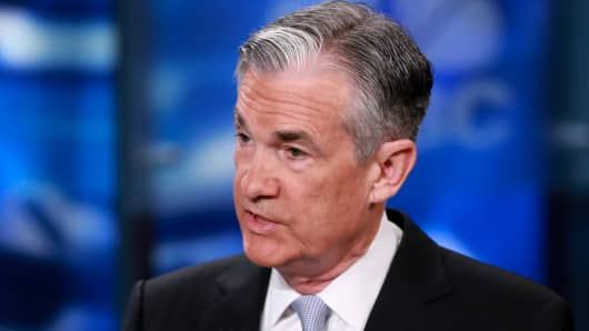 Jerome Powell, Federal Reserver Governor.