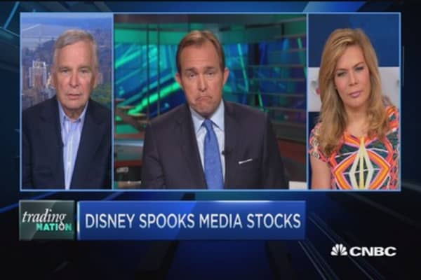 Disney spooks media stocks