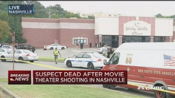 Nashville theater shooter dead