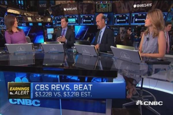 CBS takes $55 million charge