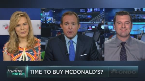 Time to buy McDonalds?