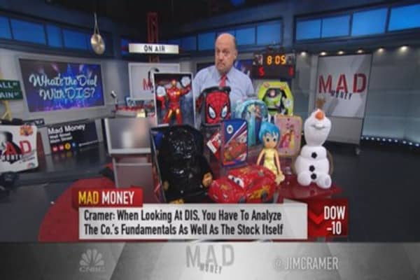 Cramer: DIS remains terrific buy for posterity long-term