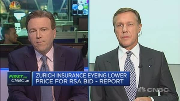Zurich Insurance's cost cuts on track: CEO