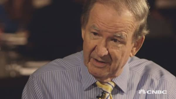 'I'm delighted Trump is in the race': Buchanan