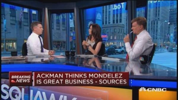 Bill Ackman takes $5.5B stake in Mondelez