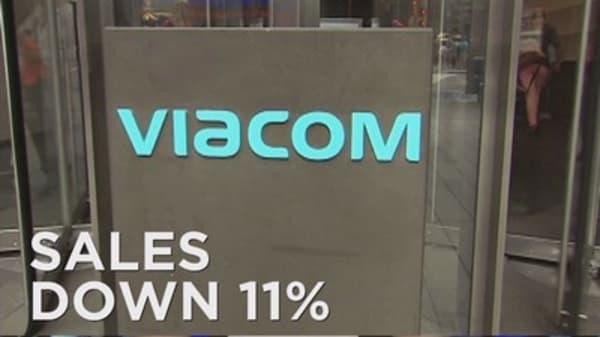 Viacom reports revenue decline