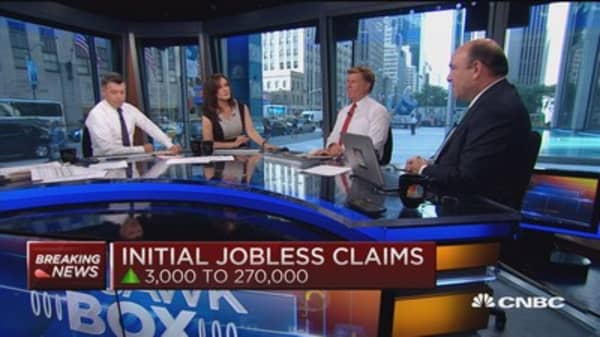 Initial jobless claims up 3,000 to 270,000
