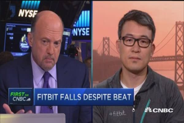 Fitbit CEO: Gross margin well within guidance