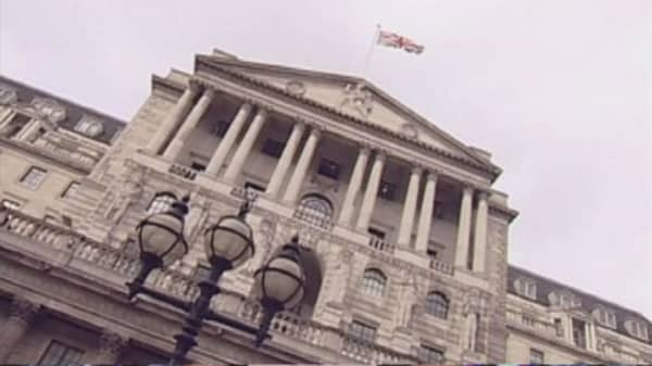 Bank of England votes on rate hike