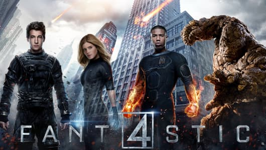 Fantastic 4 movie poster.