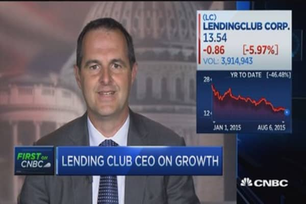 CEO: Lending Club a technology company