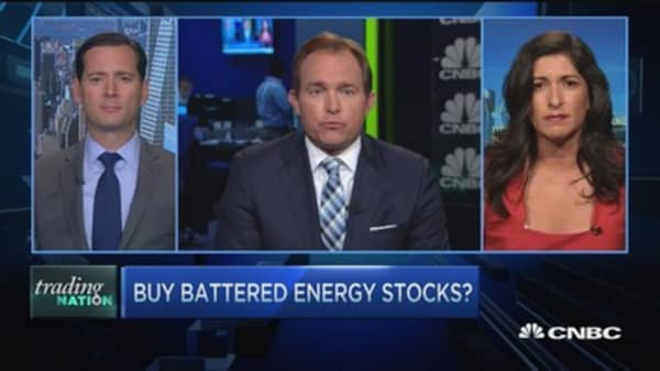 Buy battered energy stocks?