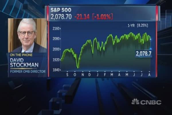 We're in an era of 'epical deflation': Stockman