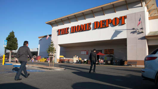 A Home Depot store in Laguna Hills, California.