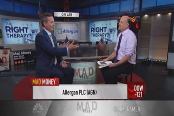 Allergan CEO: Bold is our tagline