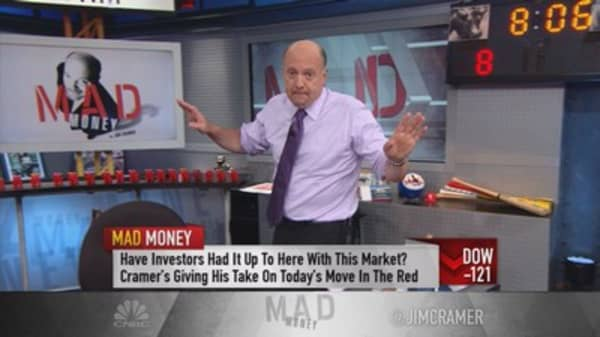 Cramer: Buy the dip or catch a falling knife