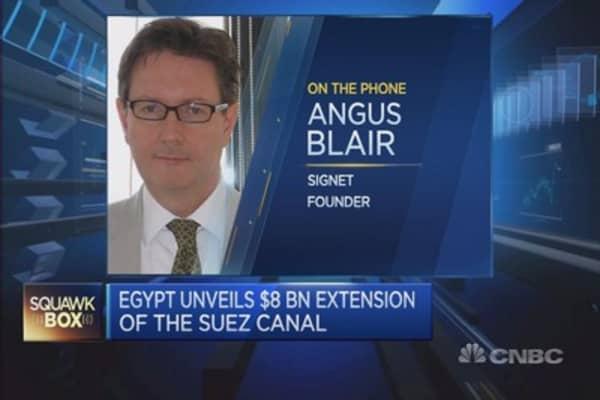 Suez Canal extension: a political move?