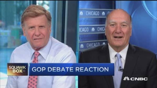 GOP debate 'entertaining' 2 hours: William Daley
