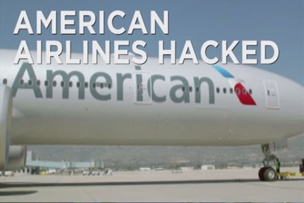 Hackers breach American Airlines and Sabre systems
