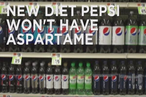 Diet Pepsi to go aspartame-free