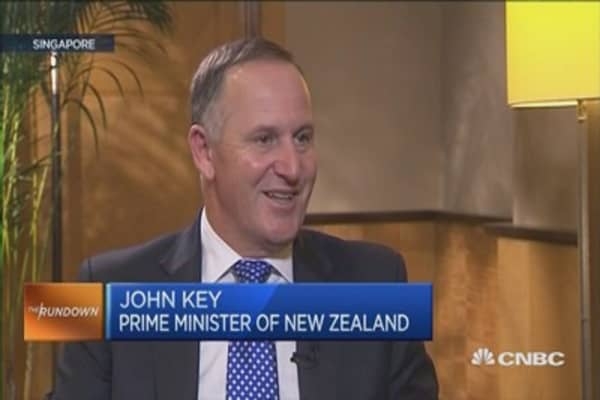 New Zealand PM: Fall in dairy prices is cyclical