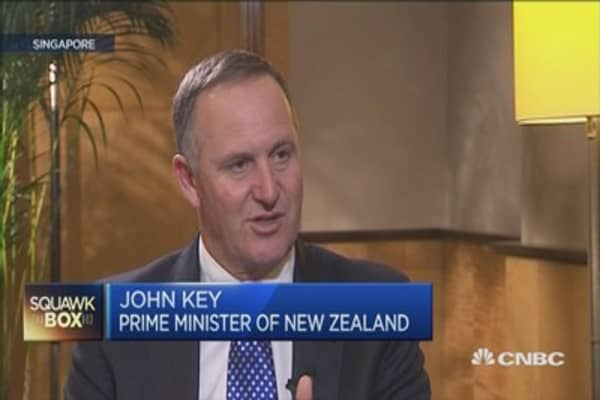 New Zealand PM: Clinch TPP deal soon
