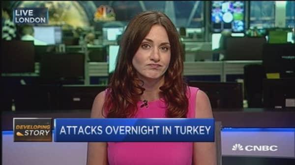 Attacks overnight in Turkey