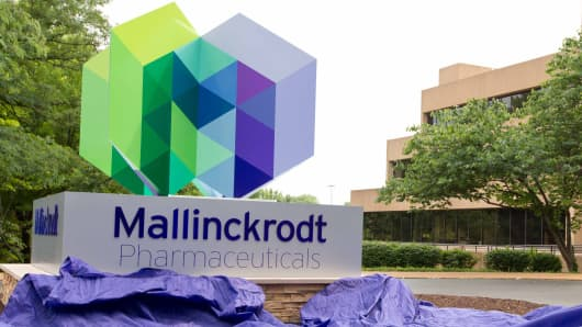 Mallinckrodt Pharmaceuticals offices in St. Louis.