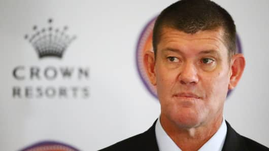 James Packer, Crown Resorts Chairman.