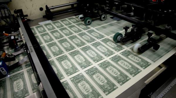 U.S. Bureau of Engraving and Printing in Washington, D.C., U.S.