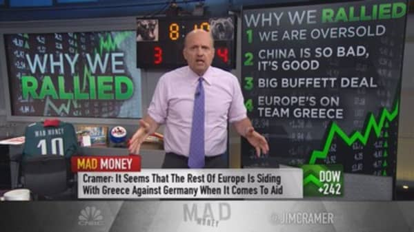 Cramer: Why we rallied